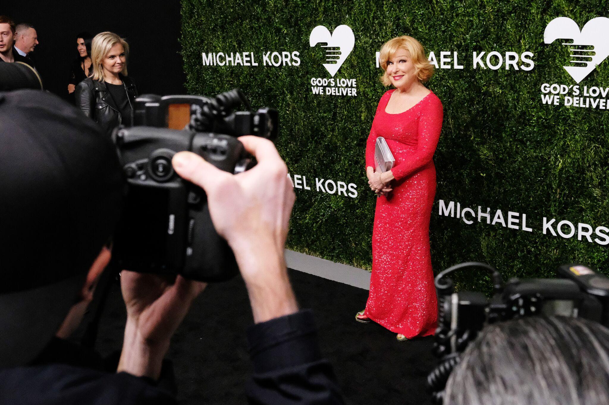 Bette Midler attends God's Love We Deliver, Golden Heart Awards at Spring Studios | Getty Images / Global Images Ukraine