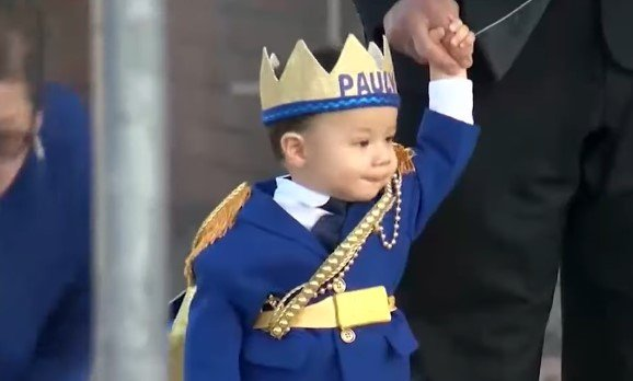 Photo of baby Paul Gilbert Anchondo during his birthday celebration | Photo: Youtube /  KVIA ABC-7