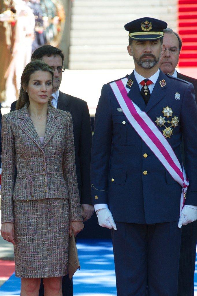 Felipe VI y Letizia, reyes de España, presidenun acto público. | Foto: Flickr