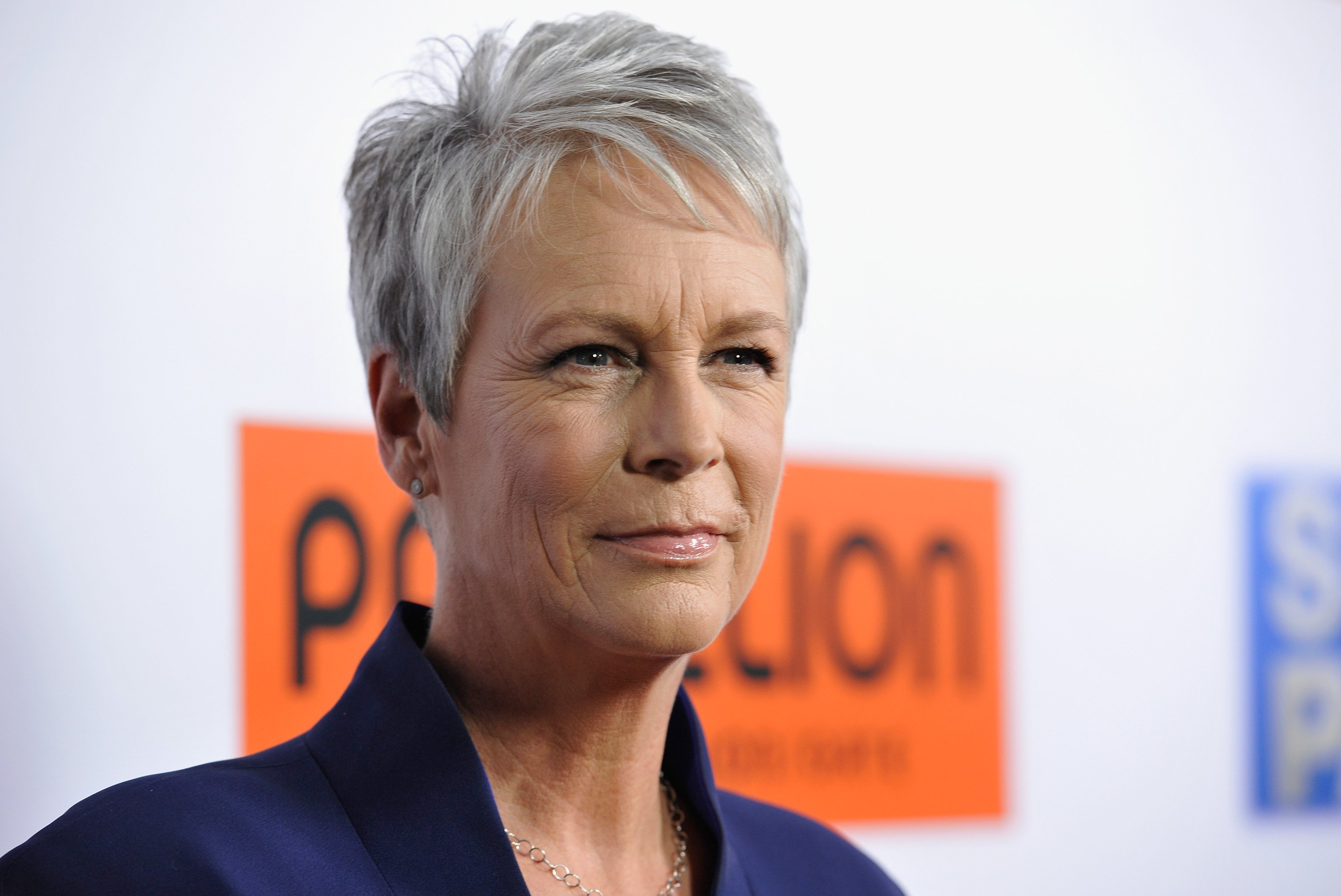 """Jamie Lee Curtis attends the premiere of Pantelion Films' """"Spare Parts"""" at ArcLight Cinemas on January 8, 2015 