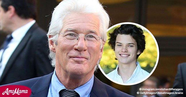 Richard Gere hat einen großen Sohn, der ebenso schön, wie sein Vater in der Jugend aussieht