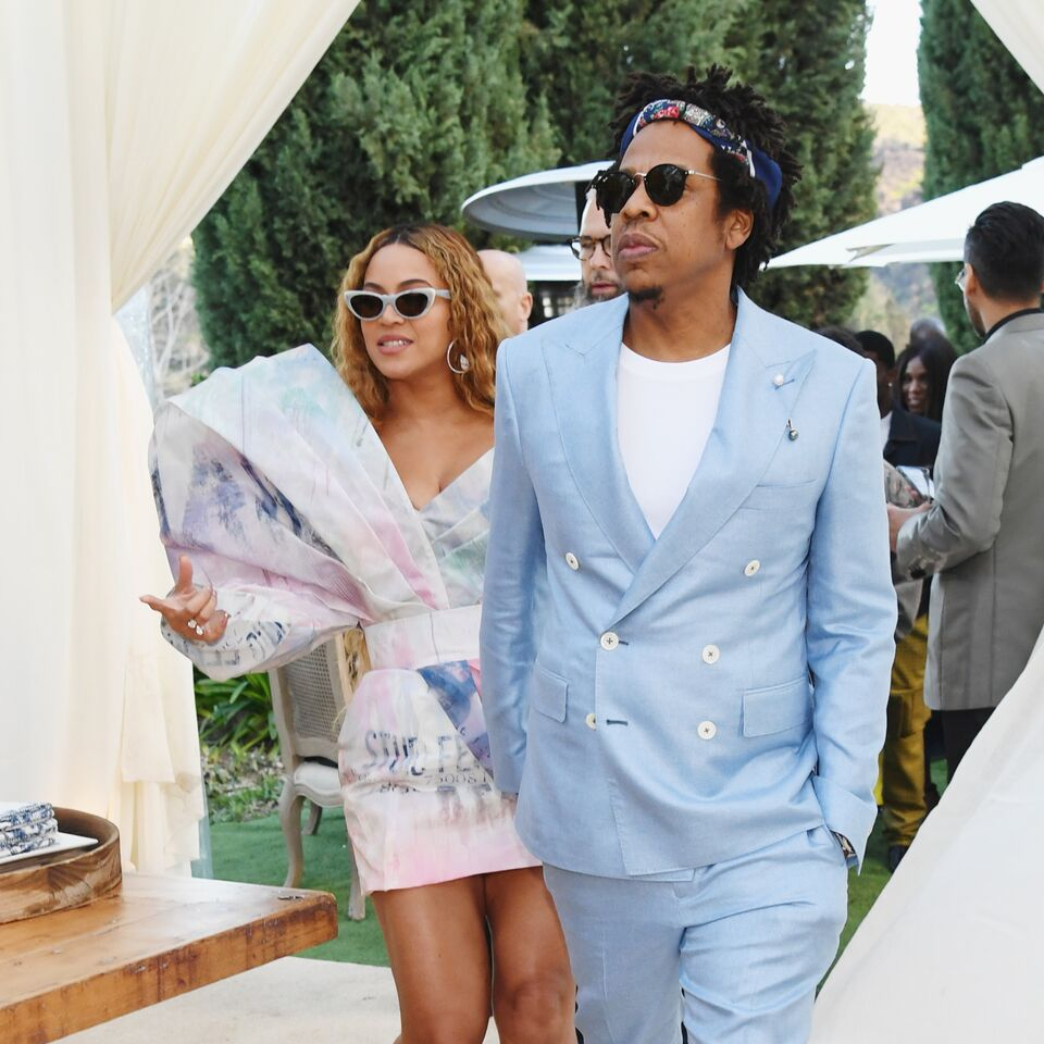 Beyonce and Jay-Z attend 2019 Roc Nation THE BRUNCH in Los Angeles, California | Photo: Getty Images
