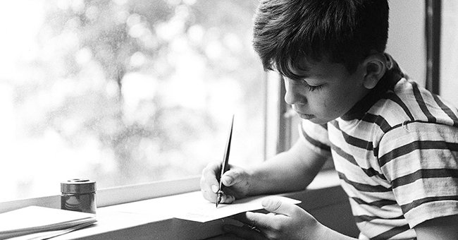 Boy Sends A Letter To His Dad In Heaven, Postman Replies [Story of the Day]