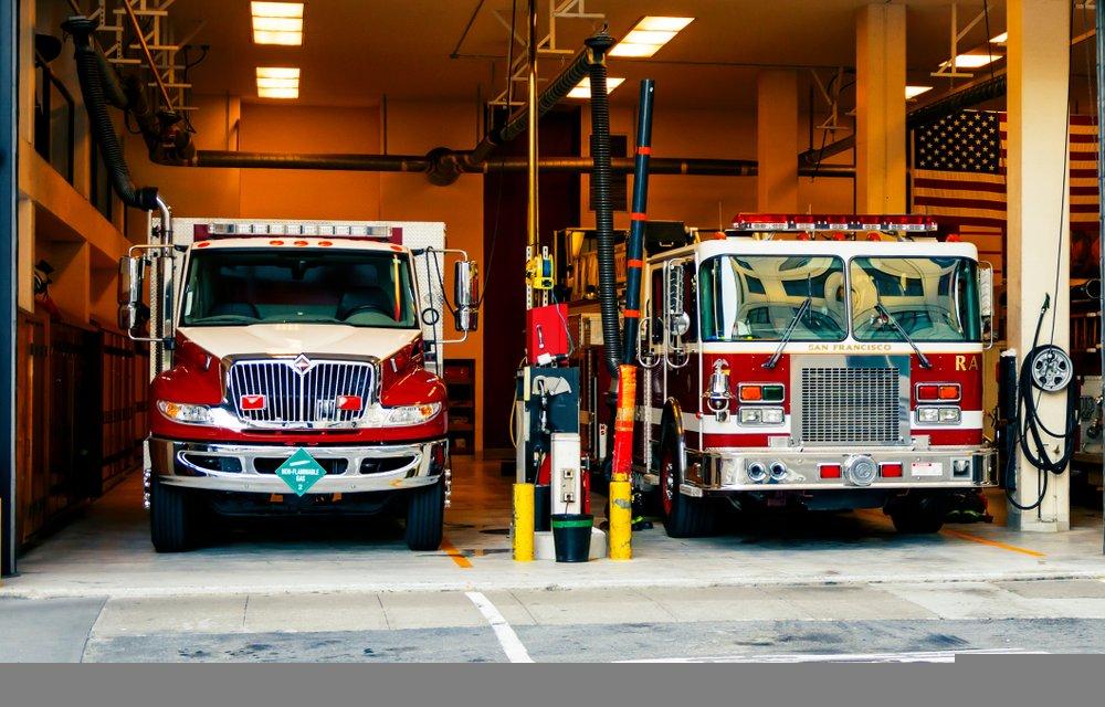 Estación de bomberos   Imagen tomada de: Shutterstock
