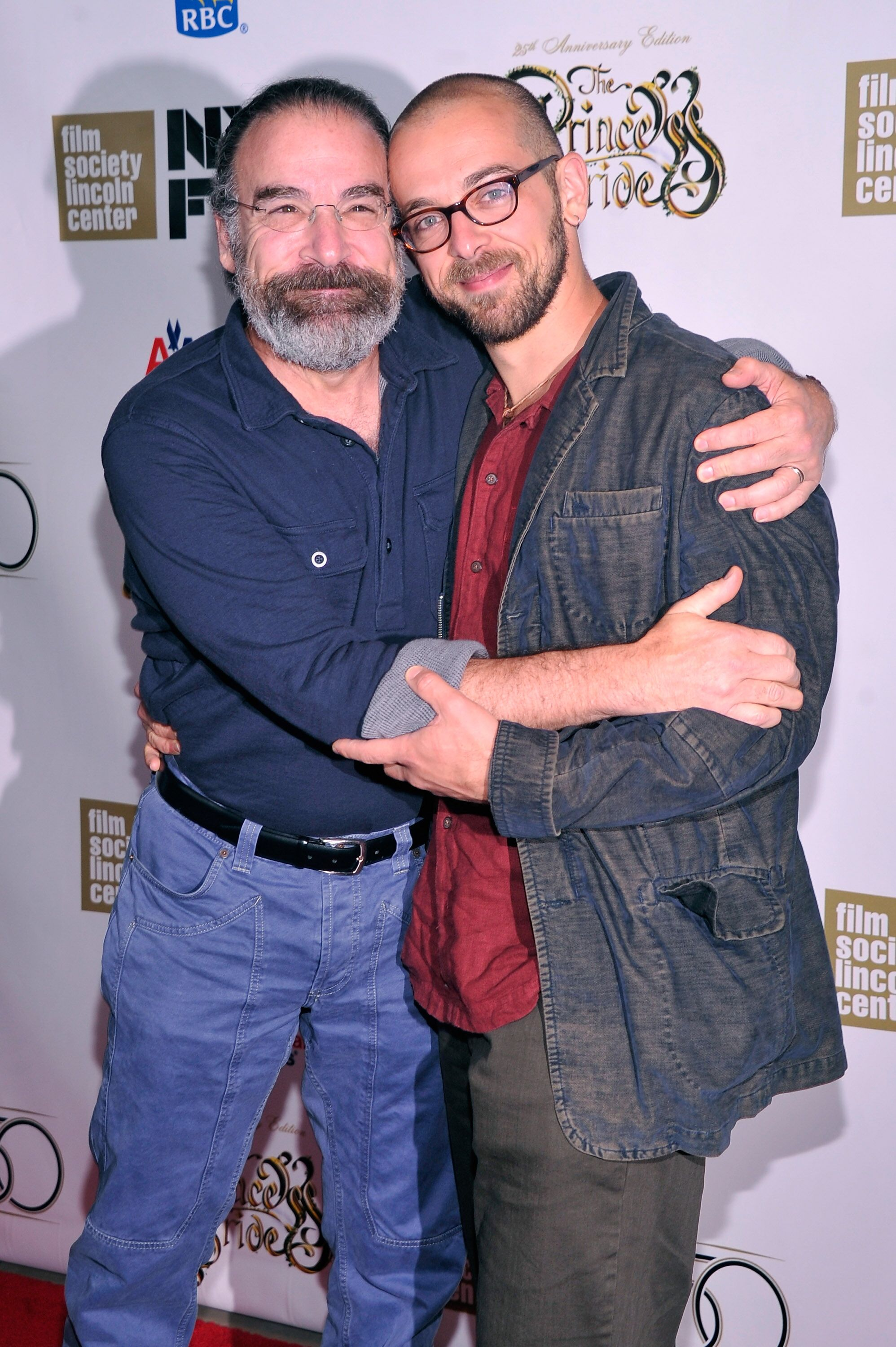 Mandy Patinkin and Isaac Patinkin at Alice Tully Hall on October 2, 2012 in New York City | Photo: Getty Images