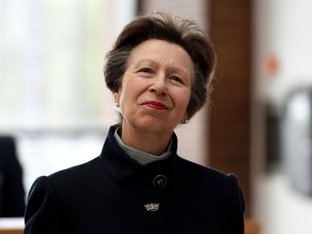 Princess Anne, Princess Royal officially opens the UK Hydrographic Office headquarters on April 25, 2019 | Photo: Getty Images