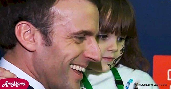 """""""Moi, j'ai voté pour toi!"""": Emmanuel Macron profondément touché par le soutien d'une petite fille"""