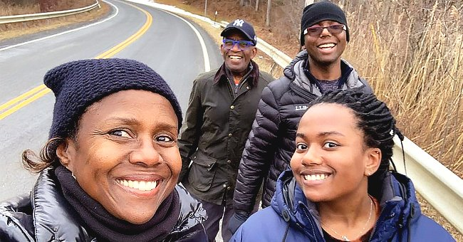Al Roker Looks Happy Taking a Walk with His Son, Daughter & Wife after Family Christmas Reunion