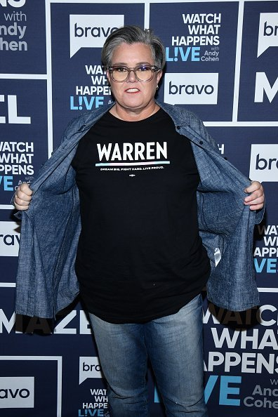 "Rosie O'Donnell on ""Watch What Happens Live With Andy Cohen"" 