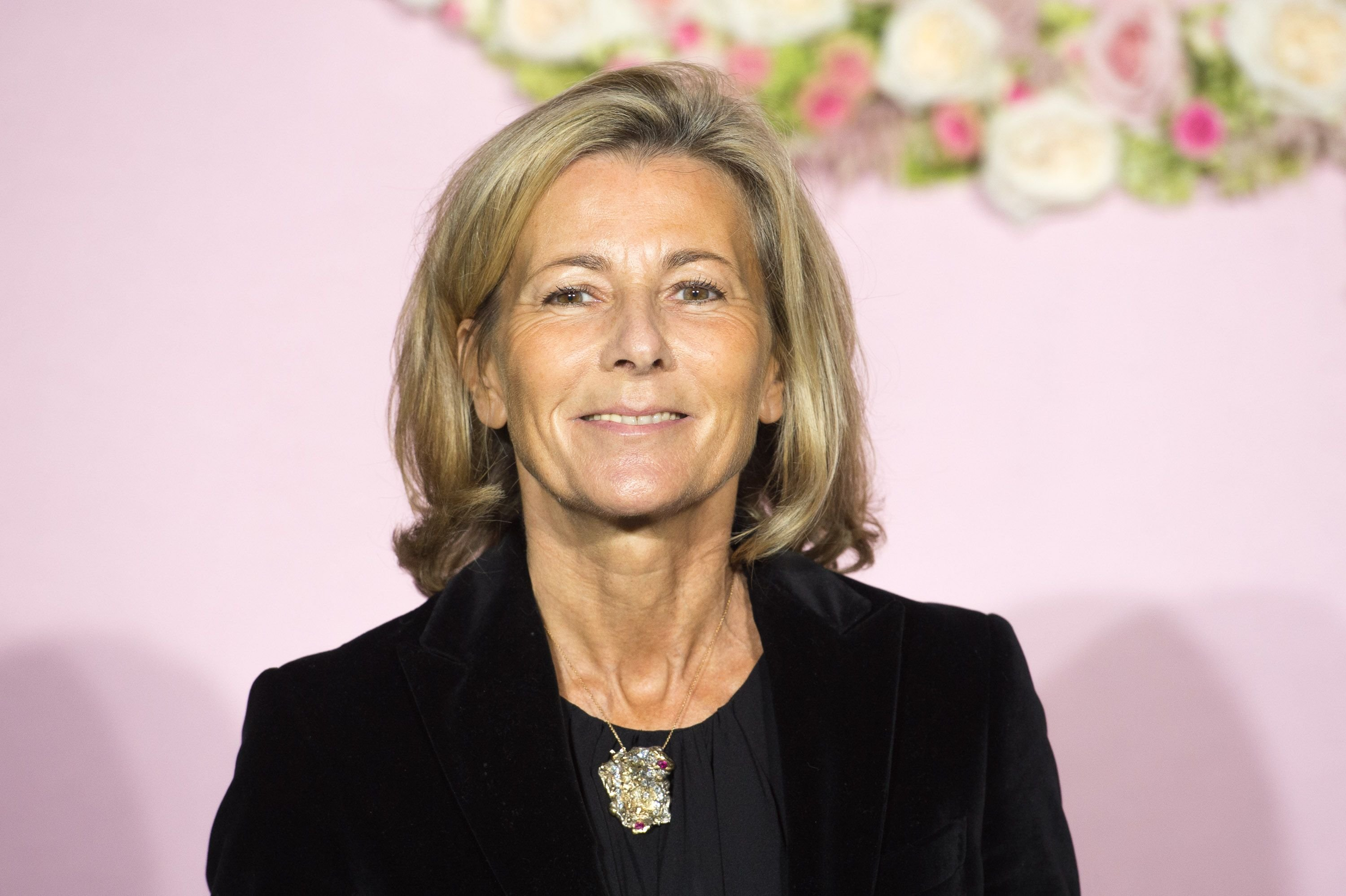 Claire Chazal le 24 septembre 2015 à Paris. l Source : Getty Images