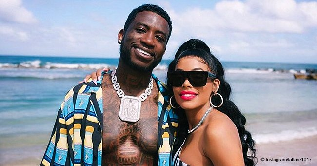 Gucci Mane & wife celebrate his birthday in Puerto Rico after his baby mama claims she's on welfare