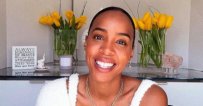 Kelly Rowland's Younger Son Noah Moves His Tiny Eyebrows While Baby-Talking in New Video with Mom