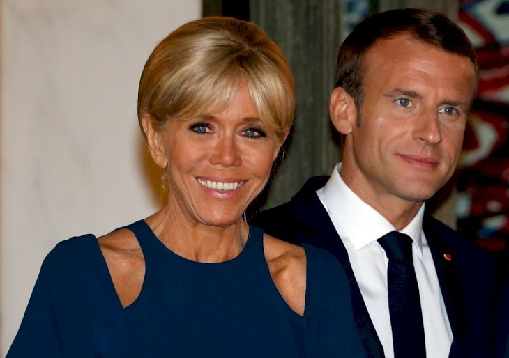 Emmanuel Macron et sa femme. | Photo : GettyImage