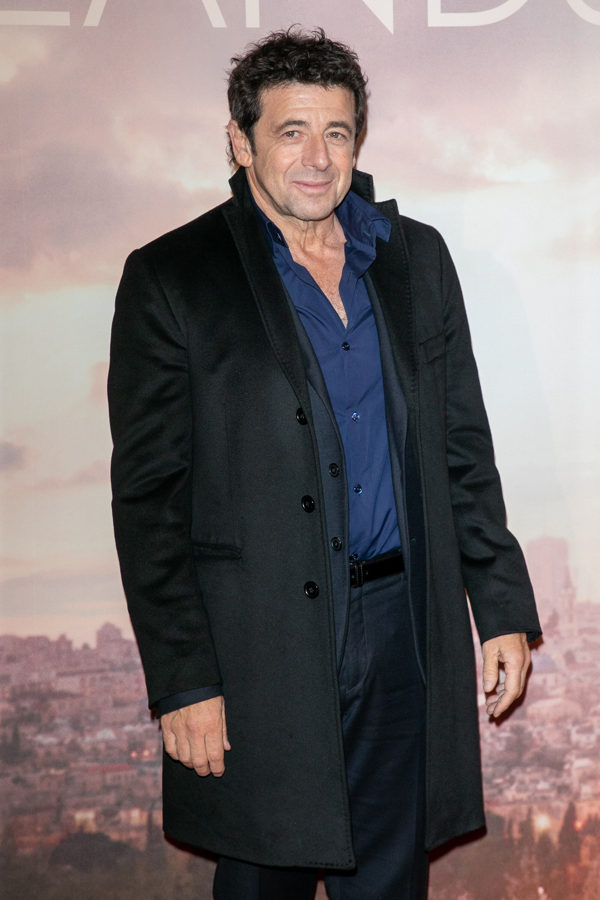 L'inimitable Patrick Bruel. l Source : Getty Images