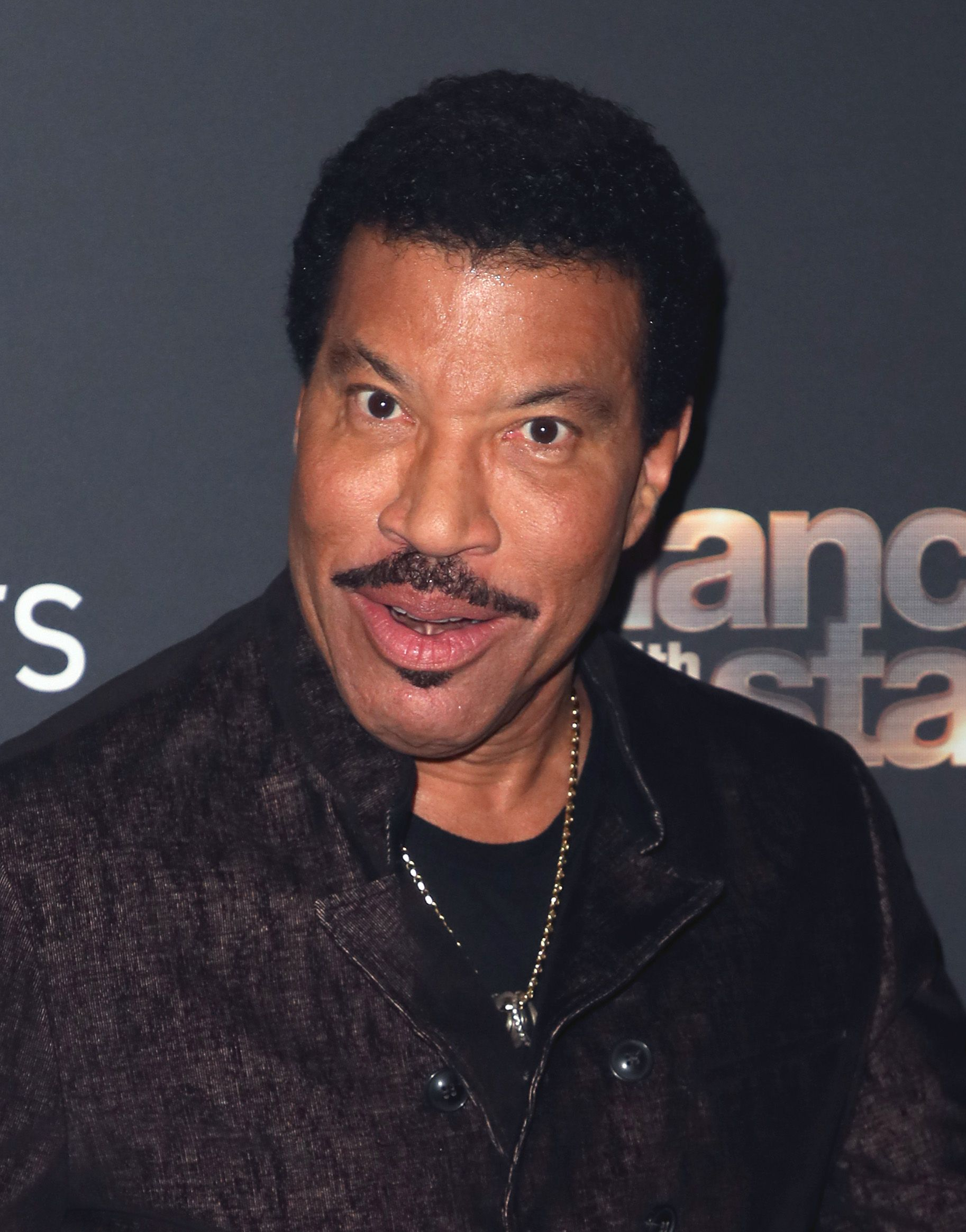 "Lionel Richie poses at ""Dancing with the Stars"" Season 28 Finale at CBS Television City on November 25, 2019 in Los Angeles, California 
