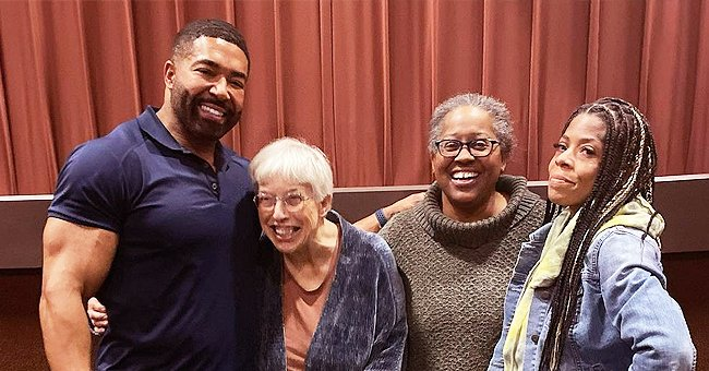 David Otunga Shares Sweet Family Photo & Revealed How He Got His Mom to Show Her Bright Smile