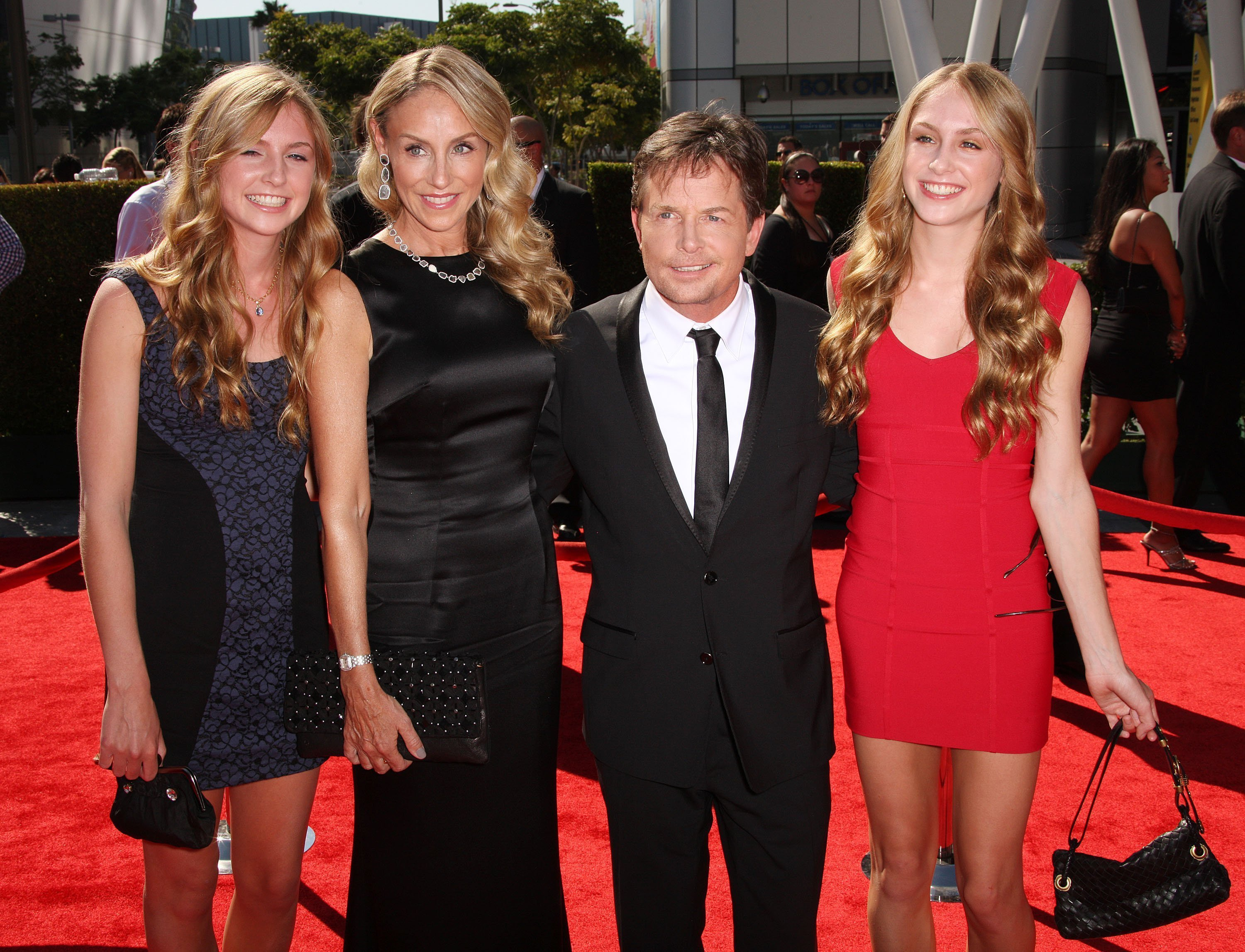 Michael J Fox mit Familie | Quelle: Getty Images