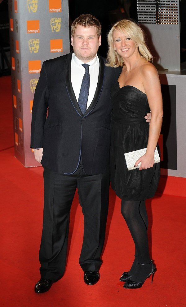James Corden and Julia Carey on February 21, 2010 in London, England | Source: Getty Images