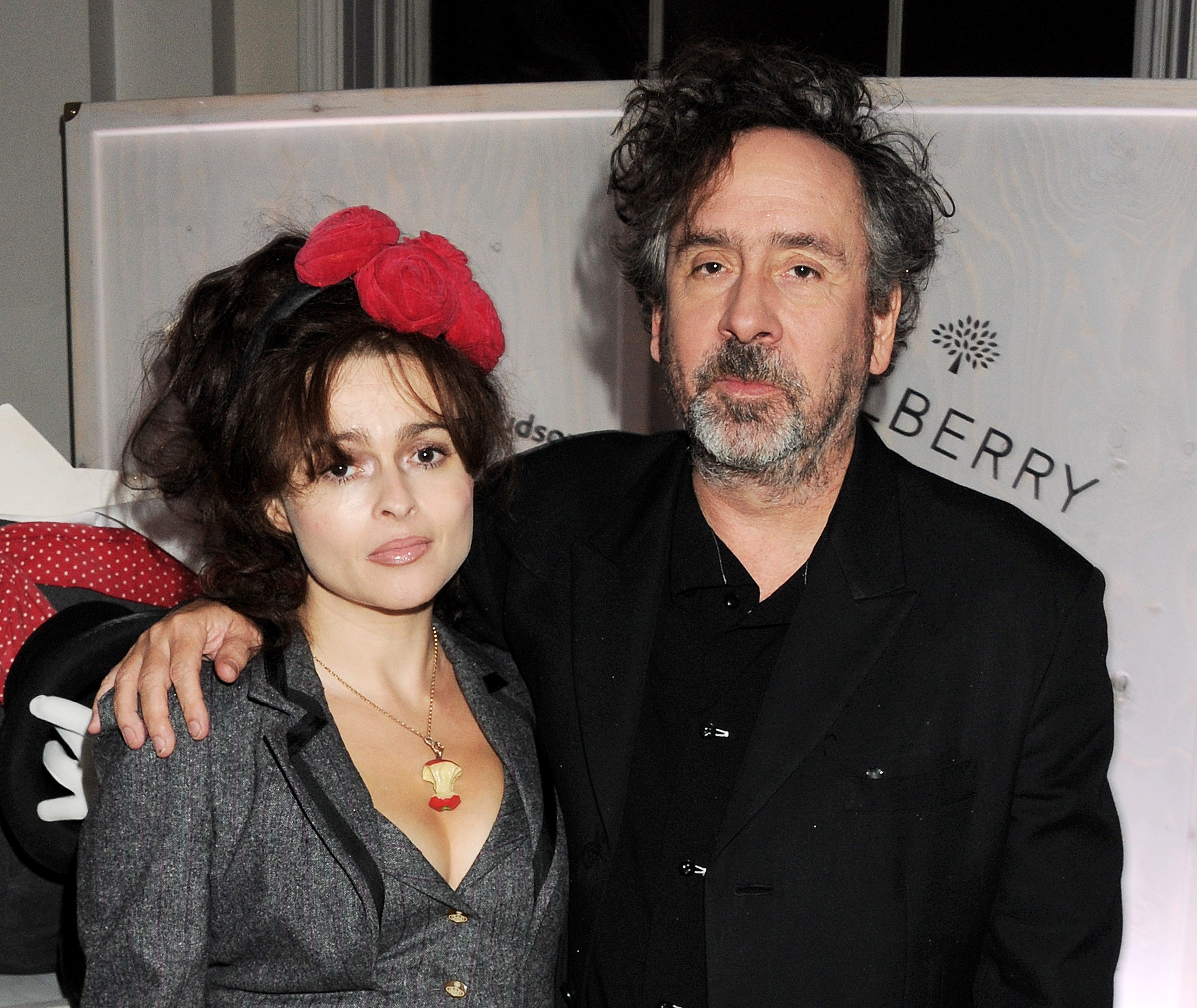 """Helena Bonham Carter and Tim Burton attend a viewing of """"Tim Walker: Story Teller"""" in London, England on October 17, 2012 