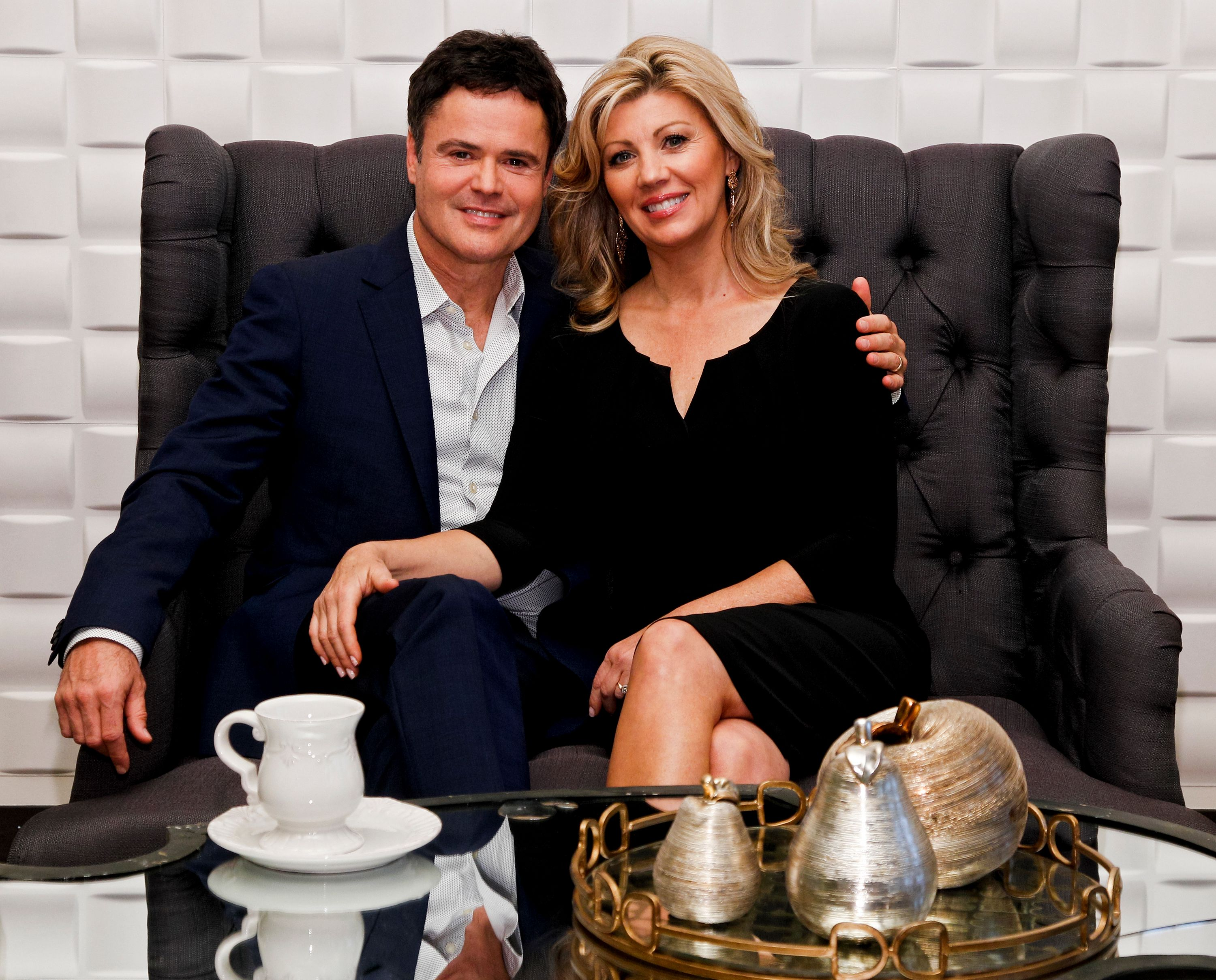 Donny and Debbie Osmond at the launch of Donny Osmond Home on September 23, 2013 | Photo: Getty Images