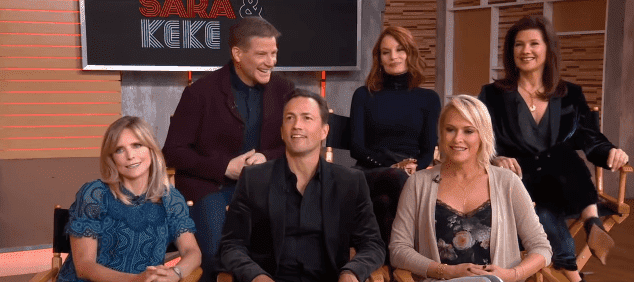 """Cast members of """"Melrose Place"""" rehash memorable moments on the show. 