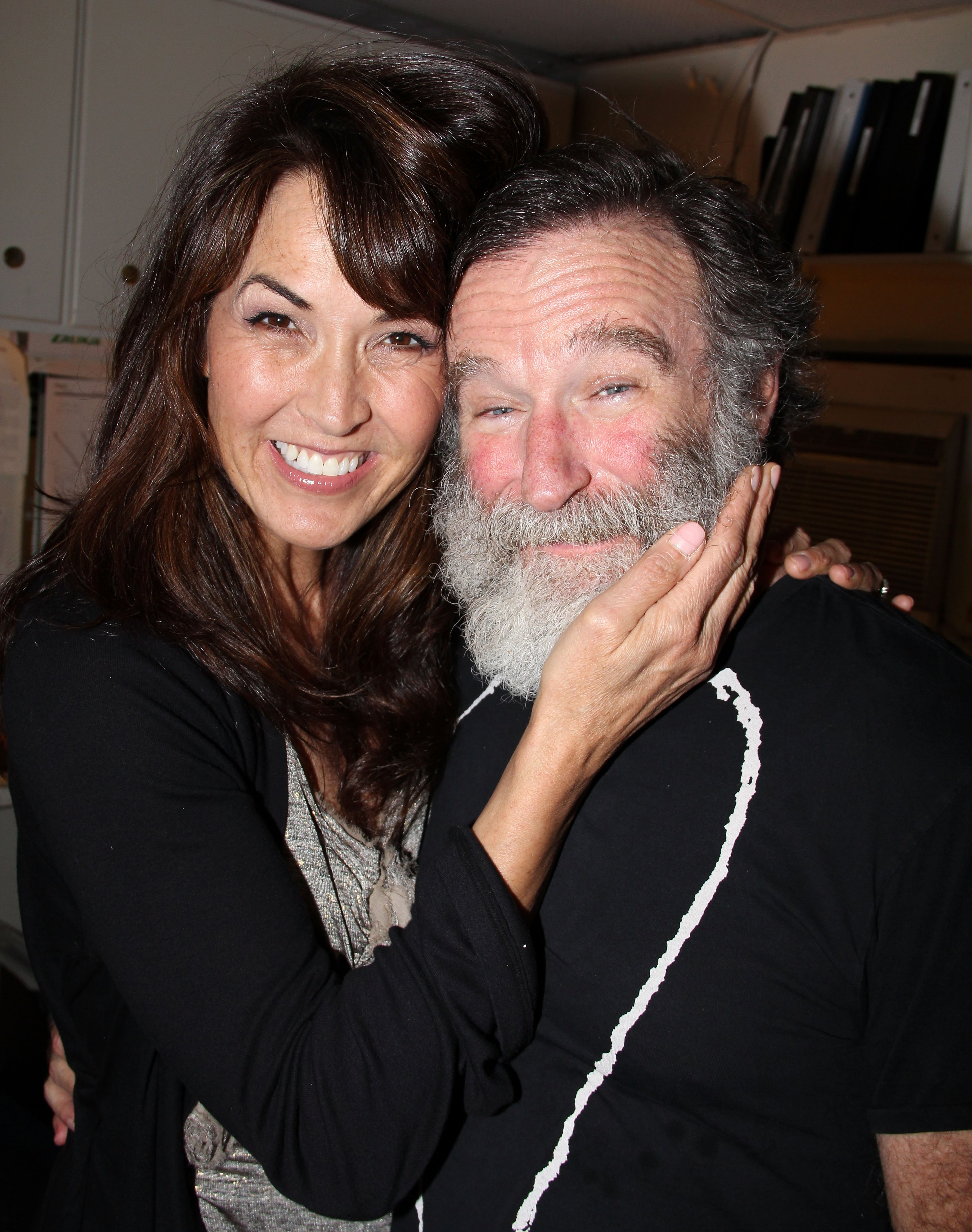 Susan Schneider and Robin Williams on June 15, 2011 in New York City   Photo: Getty Images