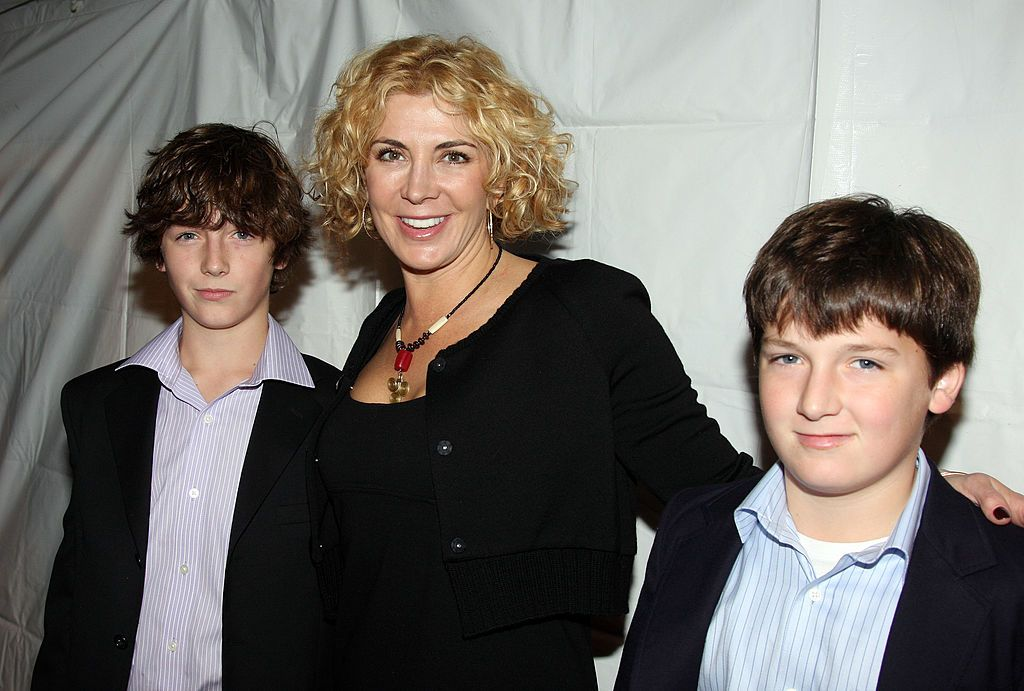 """Micheál Neeson, Natasha Richardson, and Daniel Neeson at the """"Billy Elliot: The Musical"""" opening night on Broadway on November 13, 2008 in New York City 