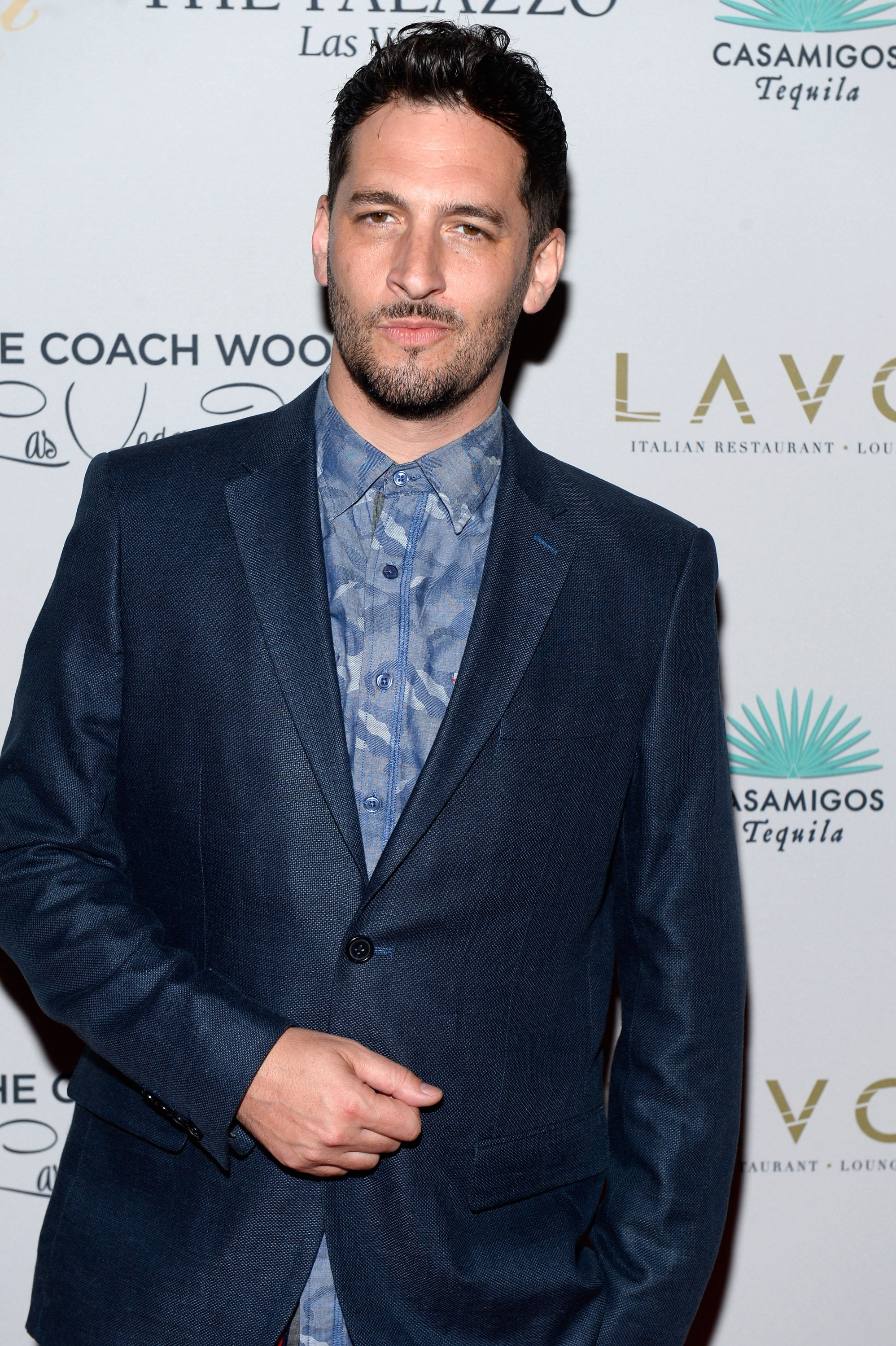 Singer/songwriter John B arrives at the second annual Coach Woodson Las Vegas Invitational pairings party at the Lavo Restaurant & Nightclub at The Palazzo Las Vegas on July 12, 2015 in Las Vegas, Nevada   Photo: Getty Images