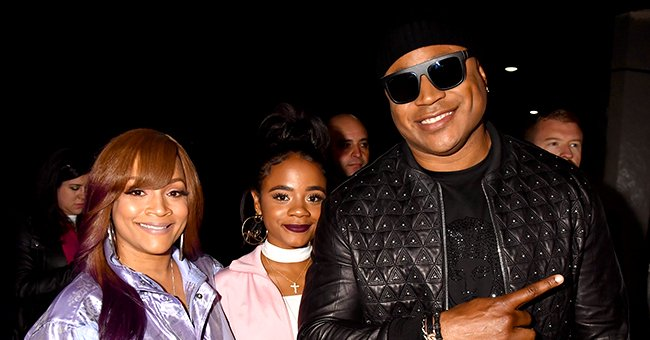 LL Cool J's Daughter Nina-Symone & Boyfriend Don Pose in Matching Outfits during Her 20th Birthday