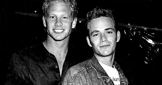 Ian Ziering from 'Beverly Hills, 90210' Remembers Costar Luke Perry on 1st Anniversary of His Death
