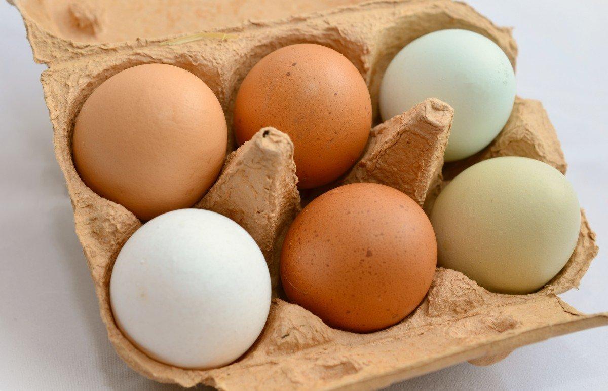 Huevos en caja de cartón. | Imagen: PxHere