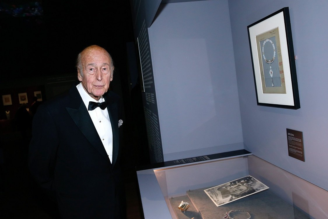 L'ancien président de la République Valéry Giscard d'Estaing | Photo : Getty Images
