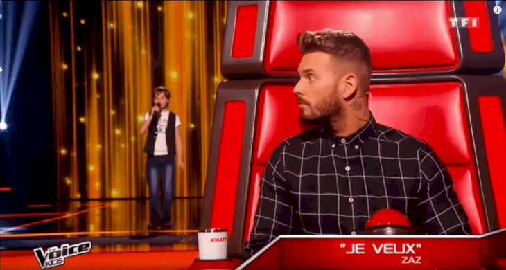 Source: YouTube/The Voice Kids France