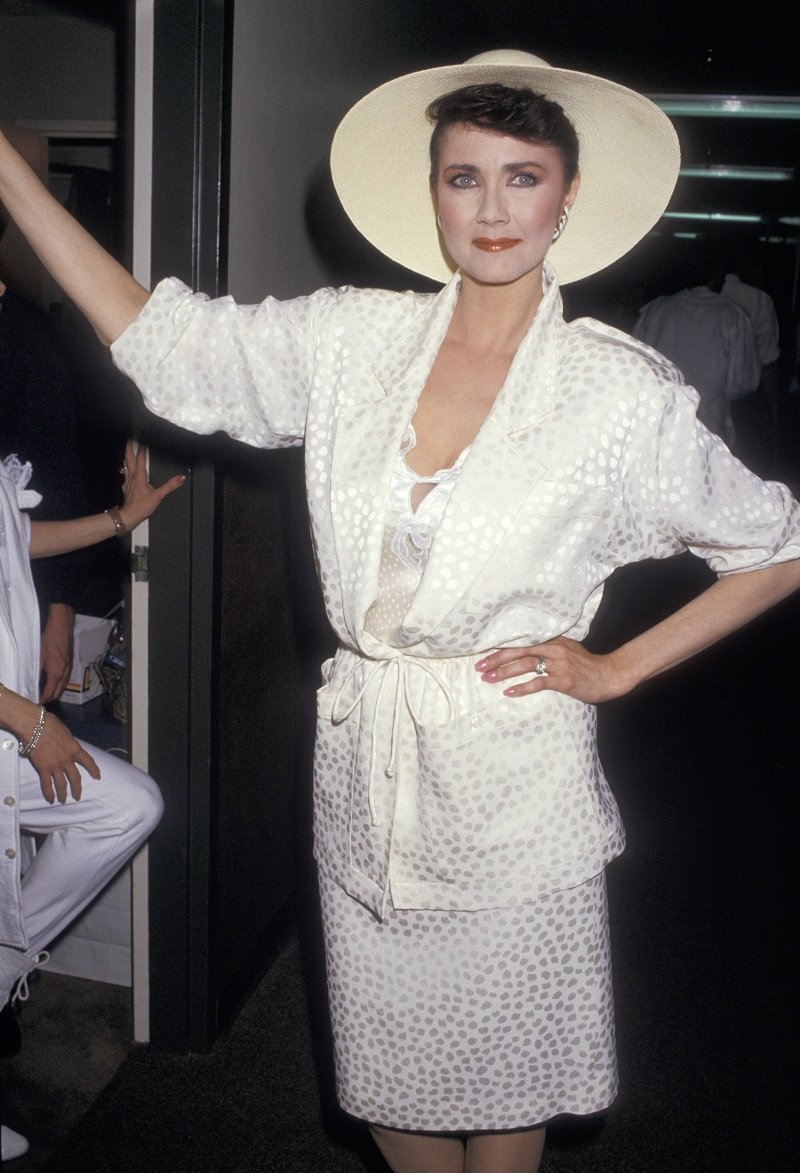 Lynda Carter on March 15, 1987 | Photo: Getty Images
