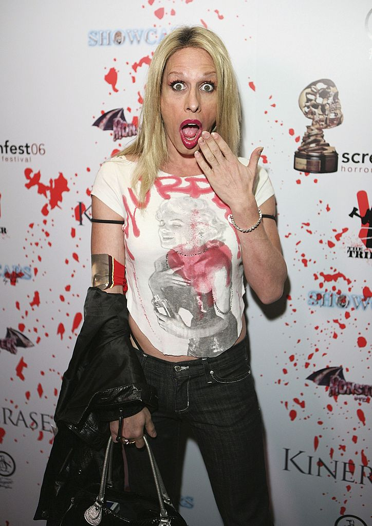 Alexis Arquette attends after party for the world premiere of 'The Tripper' at Screamfest '06 | Getty Images