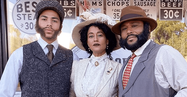 Tracee Ellis Ross Is All Class and Grace in Outfit from the 1920s in Photos for 'Black-ish'