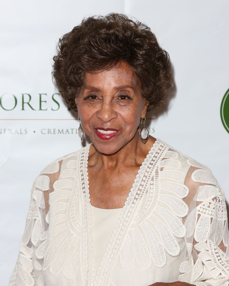 Marla Gibbs at the Witness: The John Edgar Wideman Experience at Forest Lawn Memorial Park on February 3, 2018   Photo: Getty Images