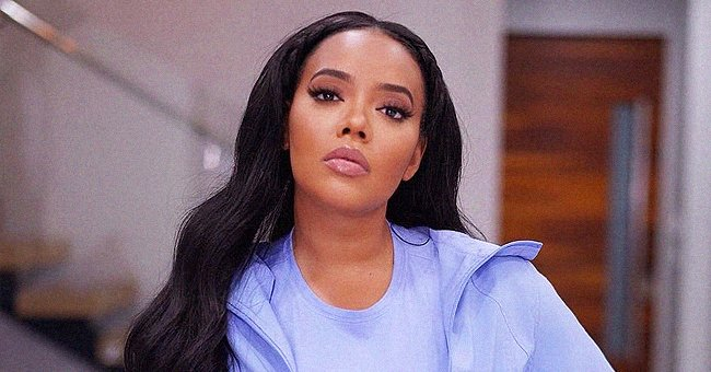 Angela Simmons Makes Hearts Race in a New Photo Flaunting Her Curves in a Nude Leather Bodysuit