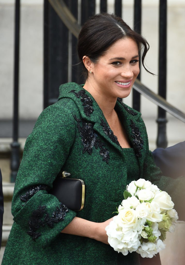 Meghan, Duchess Of Sussex attends a Commonwealth Day Youth Event at Canada House | Photo: Getty Images