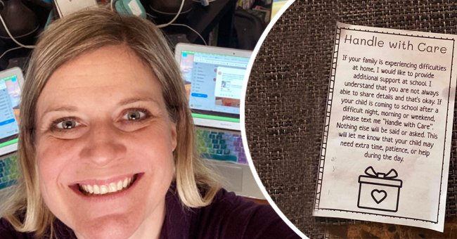 Teacher creates a special system that shows her when students need some extra care | Photo: Twitter/MineralsScience & Facebook/angiewinnkcbd