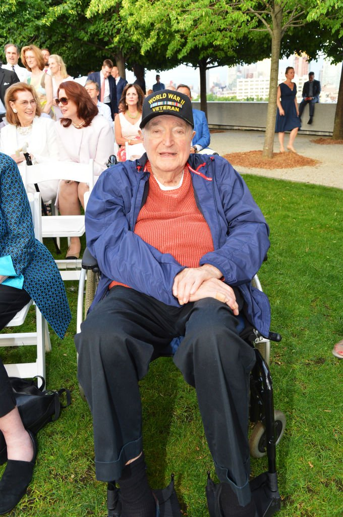 Wynn Handman attends as Franklin D. Roosevelt Four Freedoms Honors The 75th Anniversary Of D-Day at Franklin D. Roosevelt Four Freedoms Park on June 06, 2019 | Photo: Getty Images