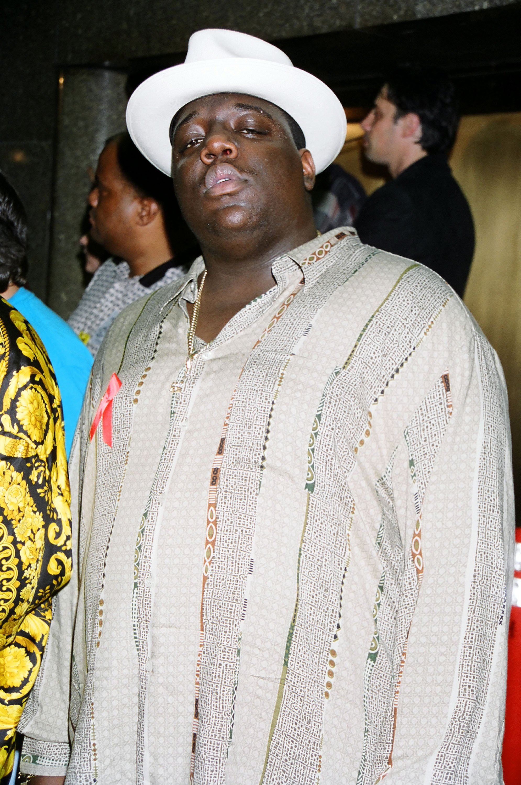 Notorius B.I.G. at the 1995 MTV Video Music Awards Show on November 7, 1995   Photo: Getty Images