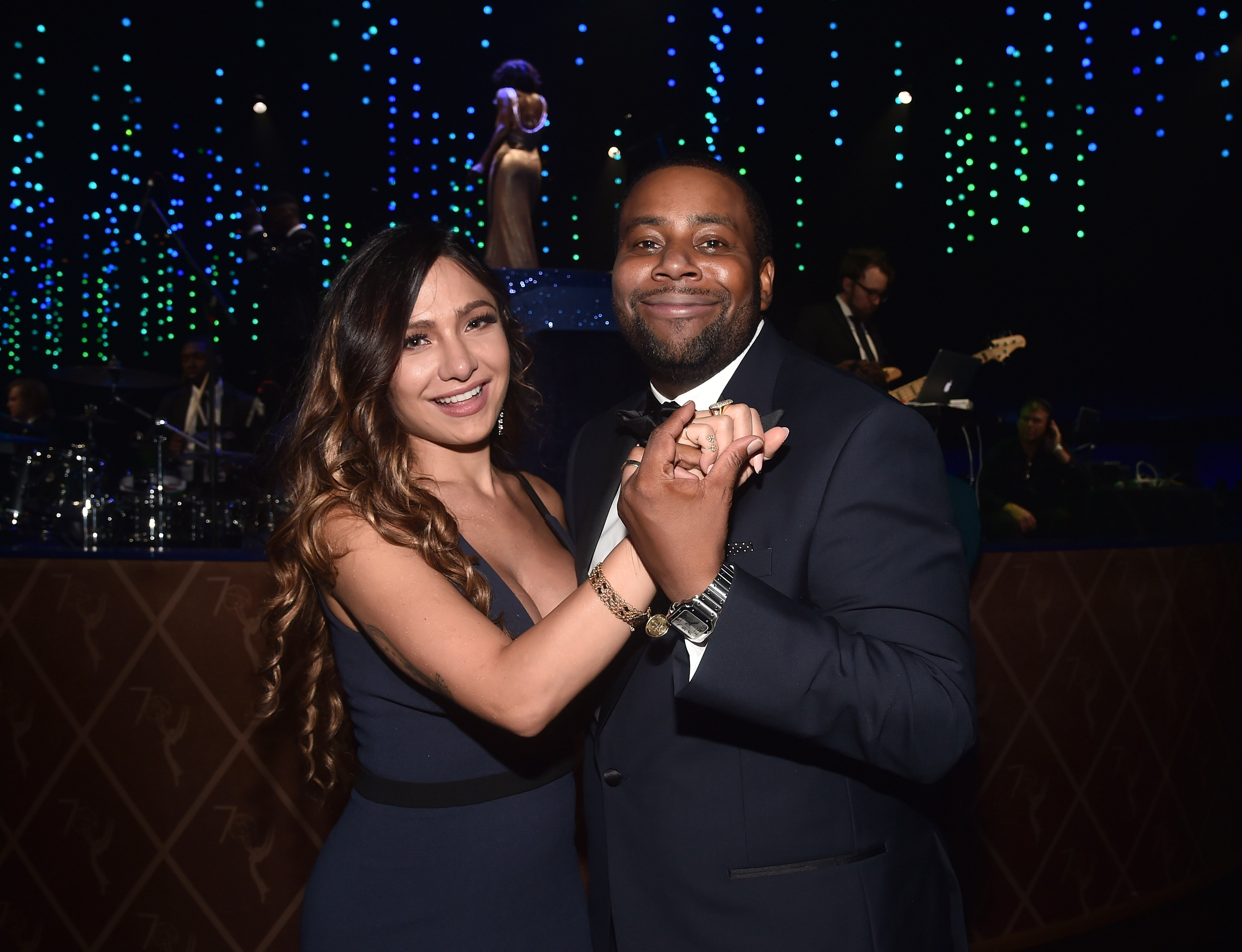Christina Evangeline and Keenan Thompson attend the 2018 Creative Arts Ball at on September 9, 2018 in Los Angeles, California | Photo: GettyImages