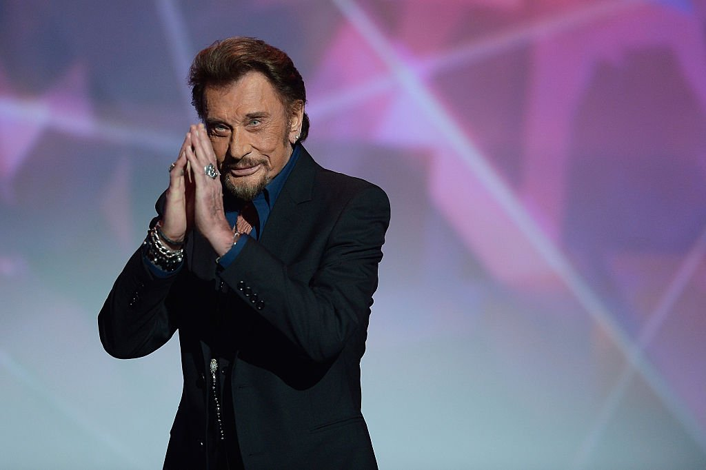 Le rockeur Johnny Hallyday. | Photo : Getty Images
