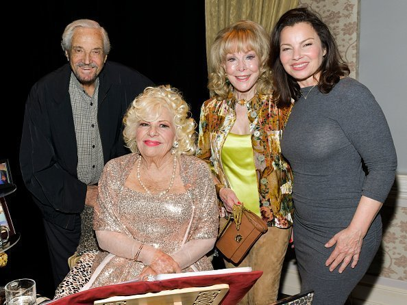 Hal Linden, Renée Taylor, Barbara Eden, and Fran Drescher pose for portrait  |  Photo: Getty Images