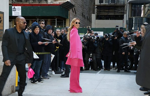 Céline Dion est vue le 07 mars 2020 à New York. |Photo : Getty Images
