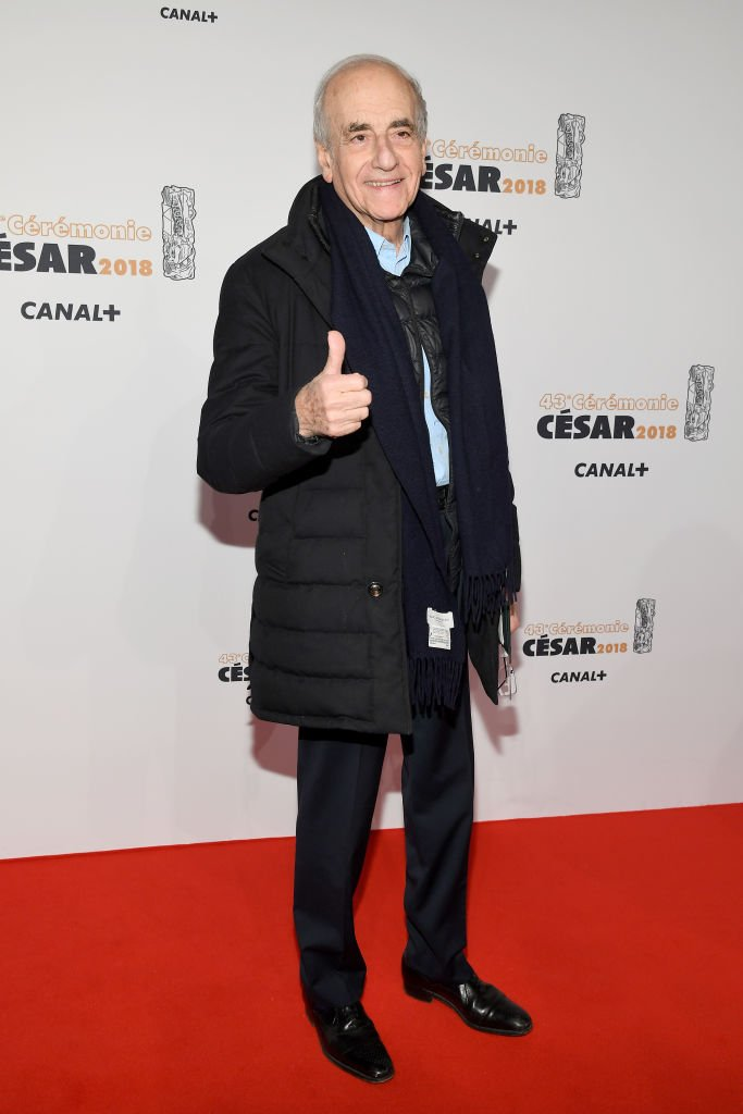 Jean-Pierre Elkabbach arrive aux César Film Awards 2018 à la Salle Pleyel le 2 mars 2018 à Paris. | Photo : Getty Images