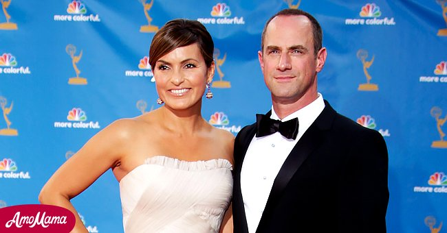 A picture of Mariska Hargitay and Christopher Meloni at an event | Photo: Getty Images