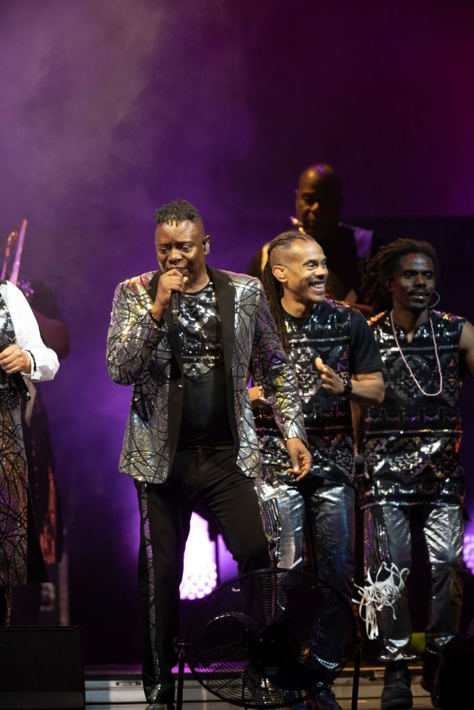 Philip Bailey (L) of Earth, Wind & Fire performs during Musikfest 2019 at Wind Creek Steel Stage at PNC Plaza | Getty Images