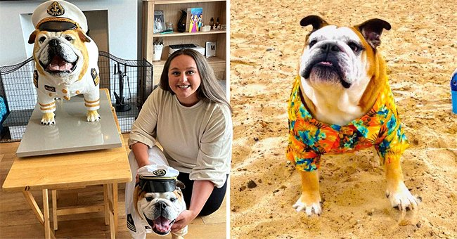 Owners Spend More than $4,000 on Dog's Birthday and Even Make a Life-Size Replica of Him